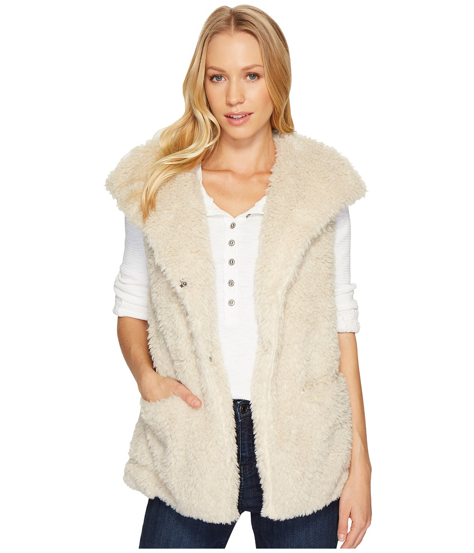 Dylan by True Grit - Ultra Soft Sherpa Cozy Pocket Vest