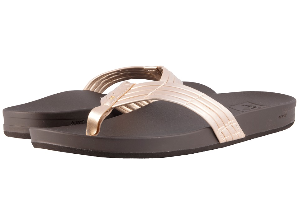 Reef - Cushion Bounce Sunny (Champagne) Women's Sandals