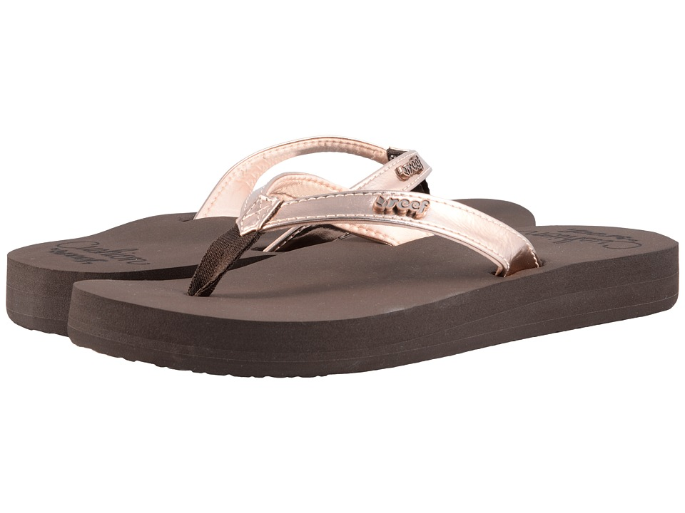 Reef - Cushion Luna (Rose Gold) Women's Sandals