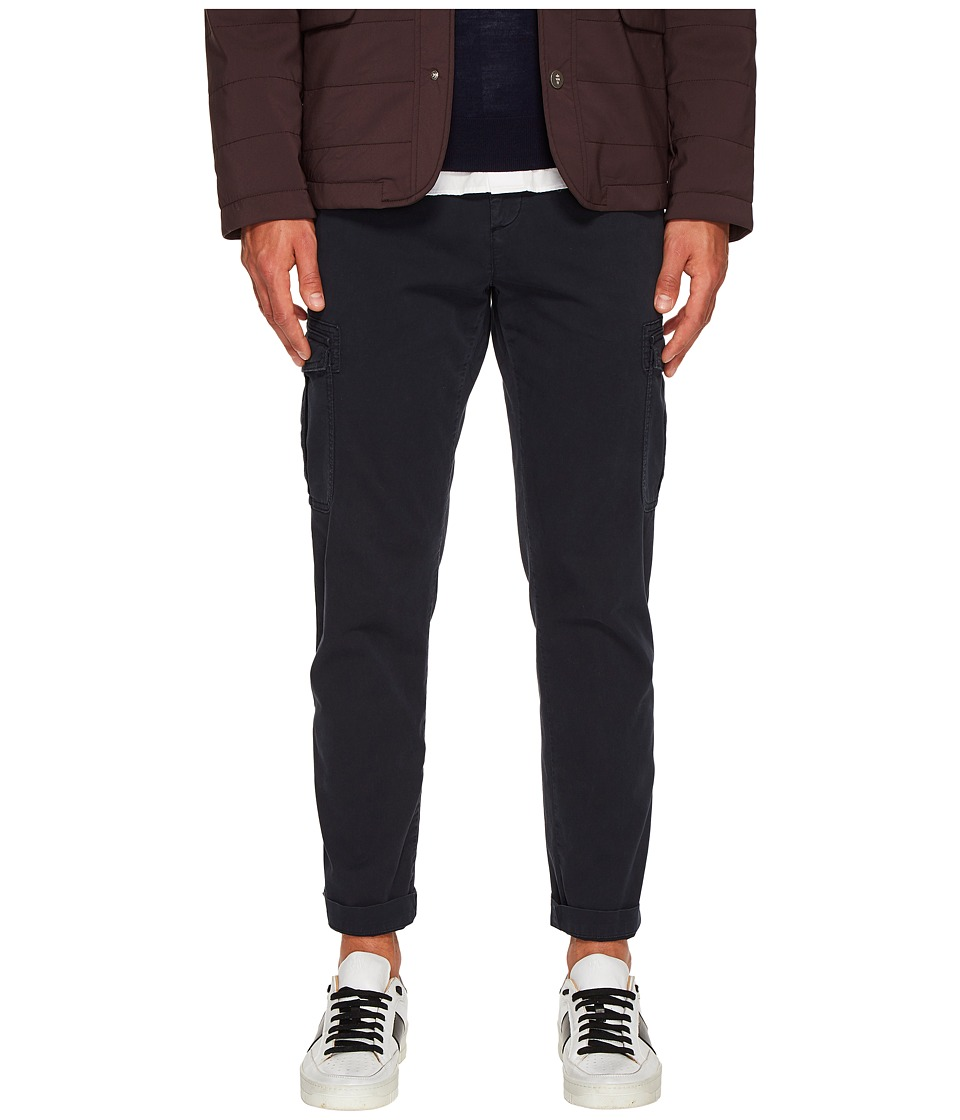 eleventy - Slim Fit Stretch Cotton Cargo Pants