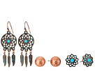 M&F Western Blazin Roxx 3-Pair Earring Set
