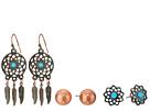 M&F Western Blazin Roxx 3-Pair Earring Set