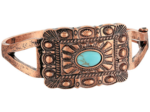 M&F Western Rectangle Copper Snap Bracelet - Copper