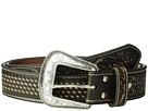 M&F Western Basketweave/Floral Embossed Belt