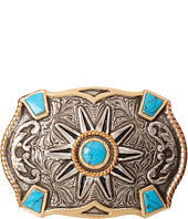 M&F Western - Crumrine Turquoise Stone Buckle
