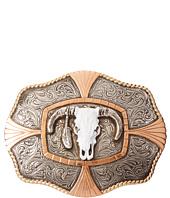 M&F Western - Crumrine Steer Skull Buckle