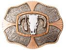 M&F Western Crumrine Steer Skull Buckle