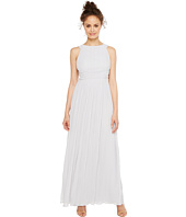 Sangria - Pleated Grecian Gown