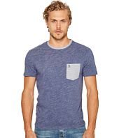 Original Penguin - Short Sleeve Plaited Slub Pocket Tee