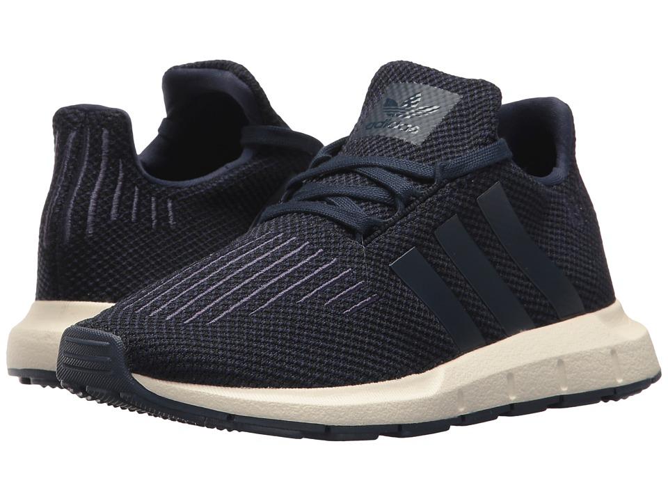 adidas Originals Kids Swift Run (Little Kid) (Navy/Black/Blue) Boys Shoes