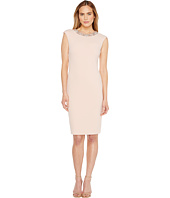 Tahari by ASL - Scuba Crepe Sheath Dress