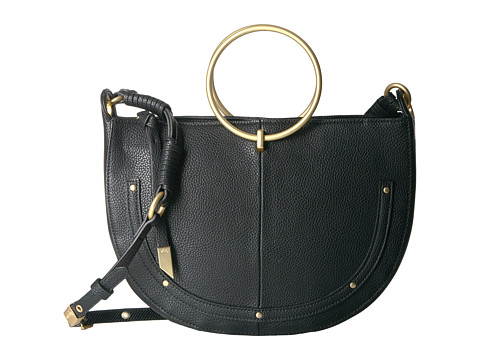 Foley & Corinna Tyler Ring Satchel Crossbody - Black