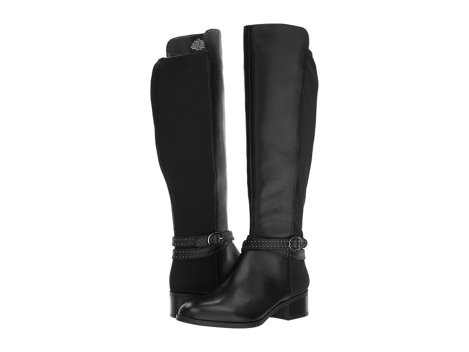 Bandolino Bryices (Black Santiago Leather/Lycra) Women