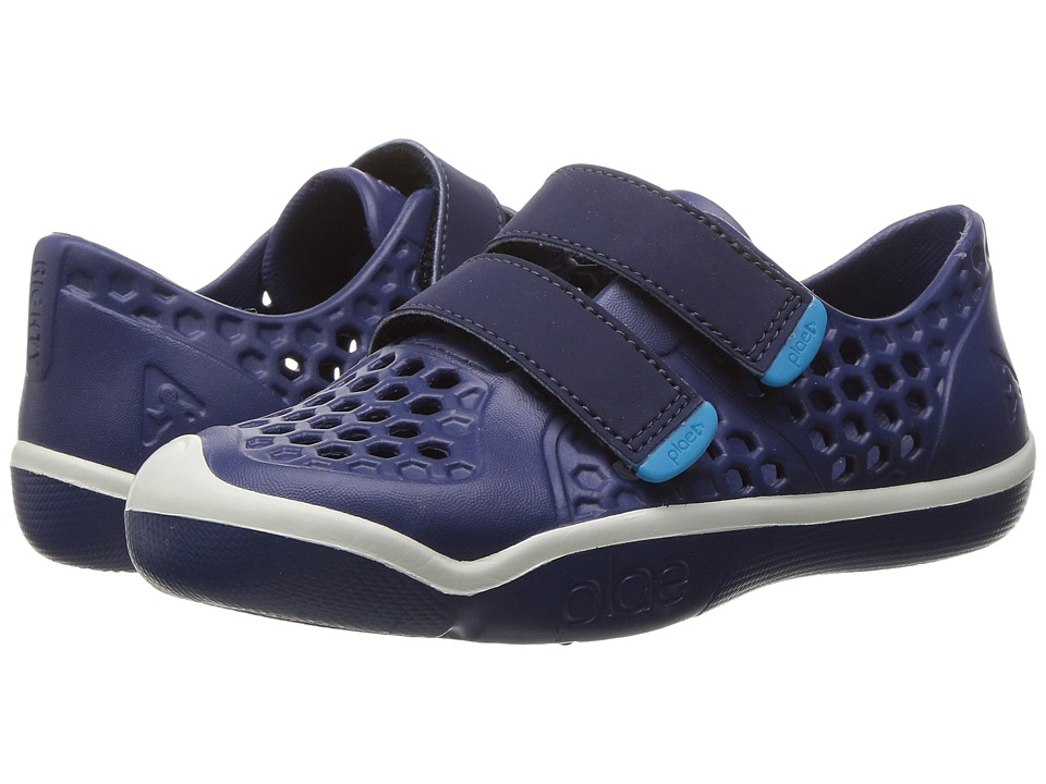 PLAE Mimo (Toddler/Little Kid) (Crown Blue) Boys Shoes