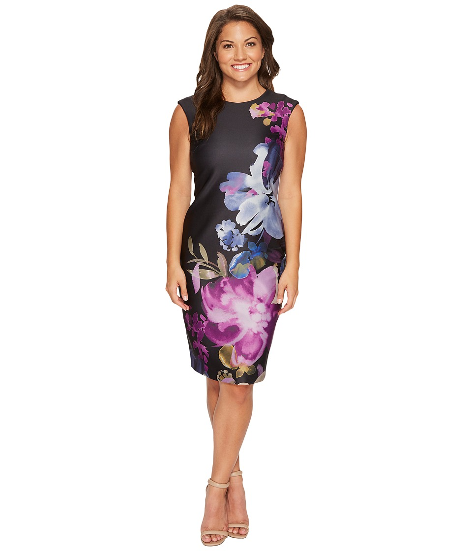 Tahari by ASL Petite - Petite Climbing Floral Sheath Dress