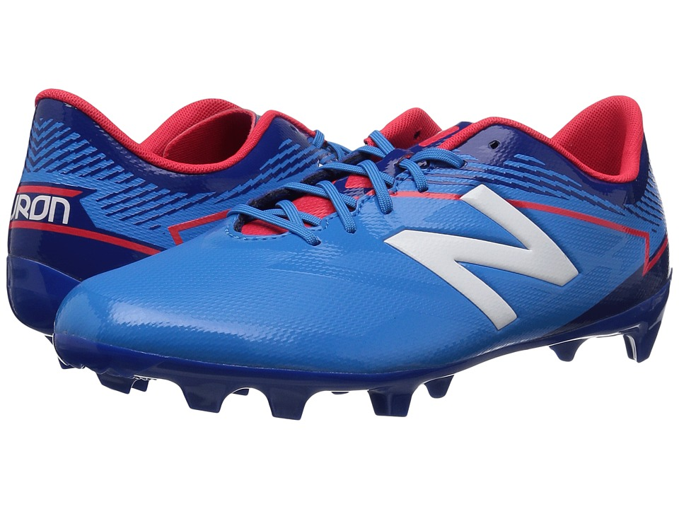 New Balance Kids JSFDFv3 Soccer (Little Kid/Big Kid) (Bolt/Team Royal) Kids Shoes