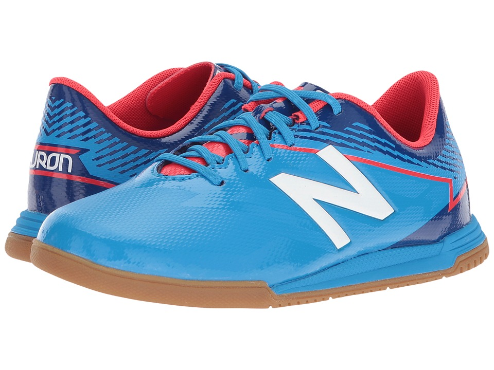 New Balance Kids JSFDIv3 Soccer (Little Kid/Big Kid) (Bolt/Team Royal) Boys Shoes