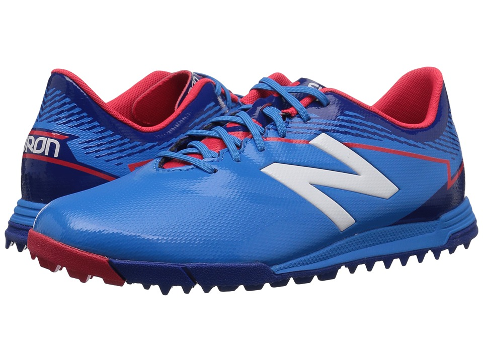 New Balance Kids JSFDTv3 Soccer (Little Kid/Big Kid) (Bolt/Team Royal) Boys Shoes