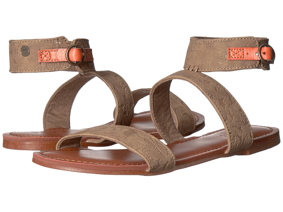 Roxy - Marron (Cream) Women's Sandals
