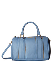 Rampage - Zipper Trim Satchel