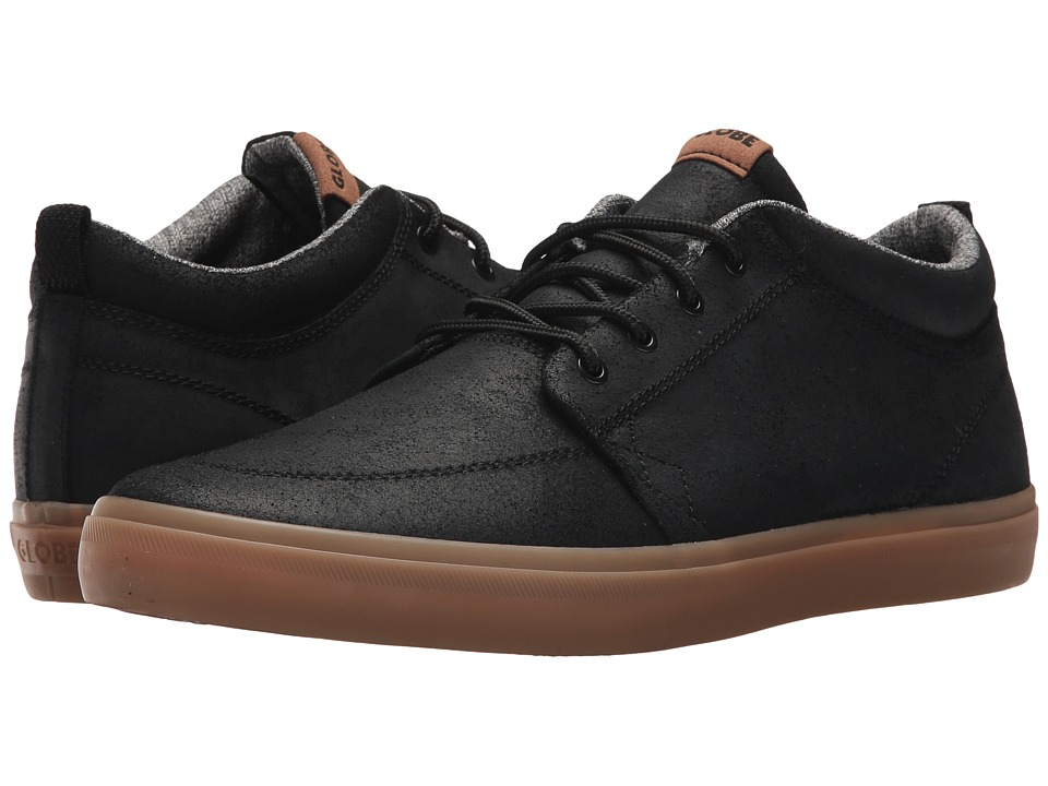 Globe - GS Chukka (Black Oiled/Gum) Mens Skate Shoes