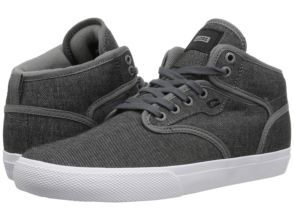 Globe - Motley Mid (Charcoal Twill) Mens Skate Shoes