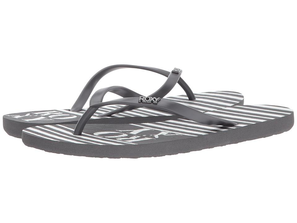 Roxy - Viva Stamp (Grey) Women's Sandals