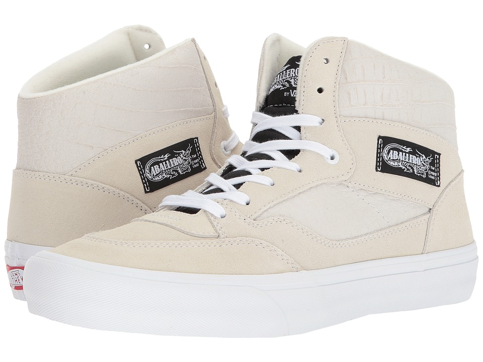 Vans Full Cab Pro (Classic White/White) Men's Skate Shoes