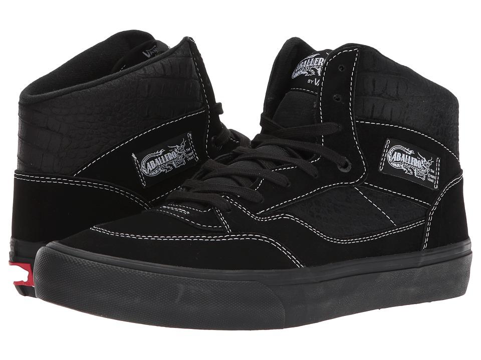 Vans Full Cab Pro (Black/Black) Men's Skate Shoes