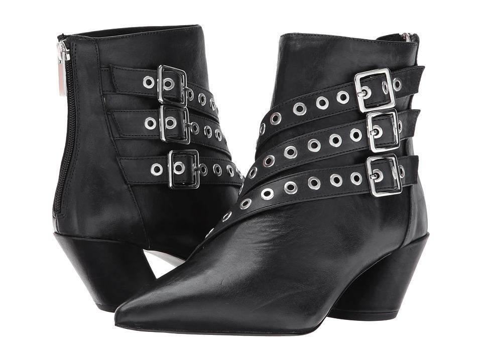 Shellys London Frasier Strappy Ankle Boot (Black) Women