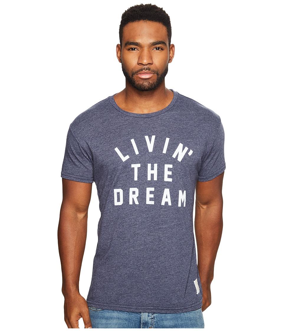 The Original Retro Brand - Living The Dream Short Sleeve Tri-Blend T