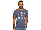 The Original Retro Brand Living The Dream Short Sleeve Tri-Blend T-Shirt