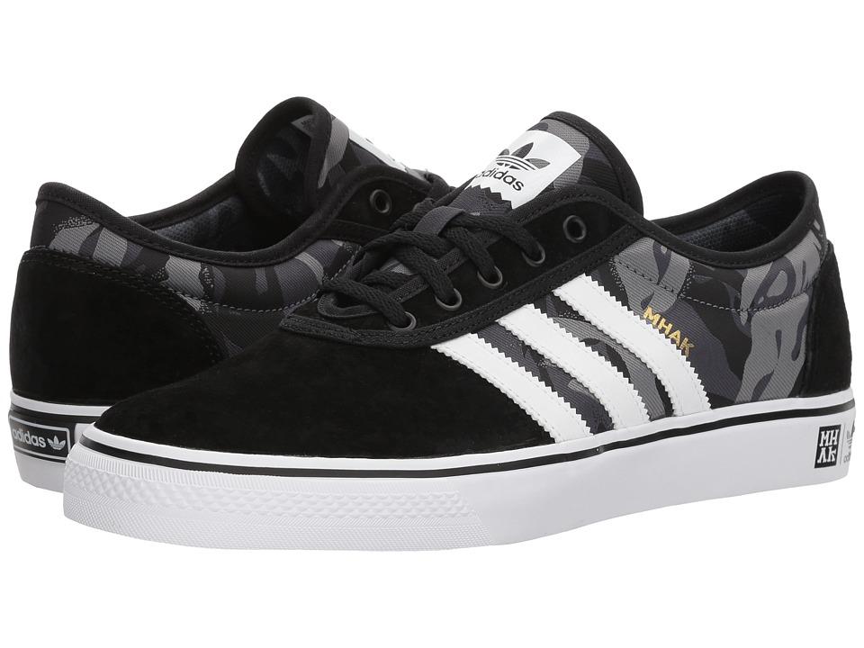 adidas - Adi-Ease X Mhak (Core Black/Footwear White/Gum 4) Mens Skate Shoes