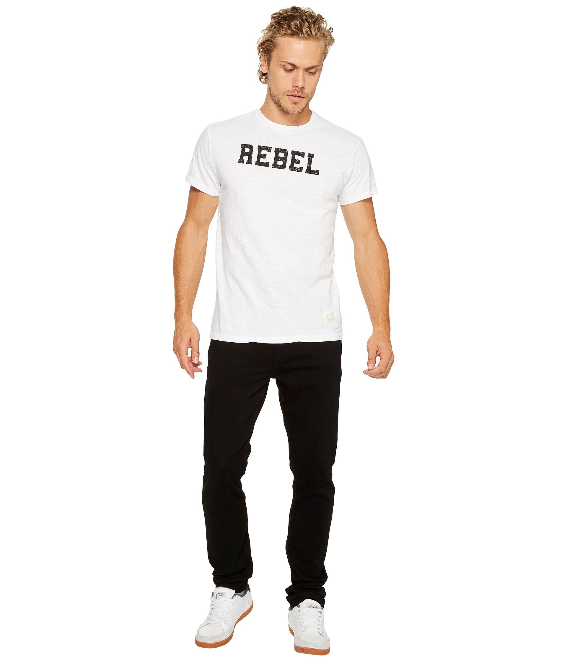 the original retro brand sleeve vintage slub rebel t