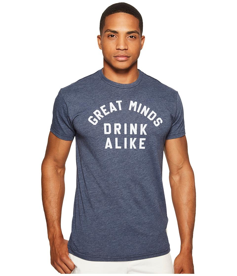 The Original Retro Brand - Great Minds Drink Alike Heathered Short Sleeve T