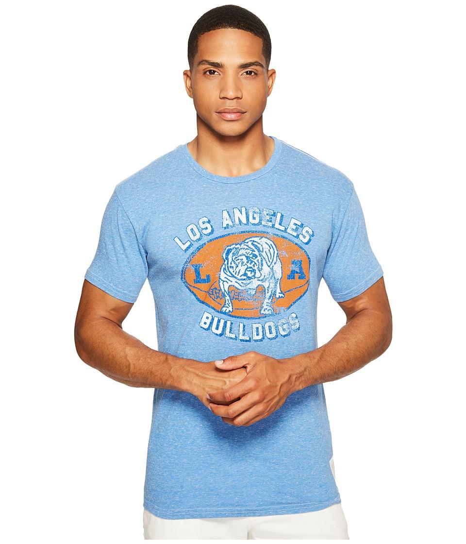 The Original Retro Brand - LA Bulldogs Streaky Tri-Blend T-Shirt