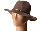 San Diego Hat Company CTH8077 Knit Fedora with Gold Trim