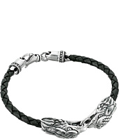 King Baby Studio - Double Eagle Braided Leather Bracelet