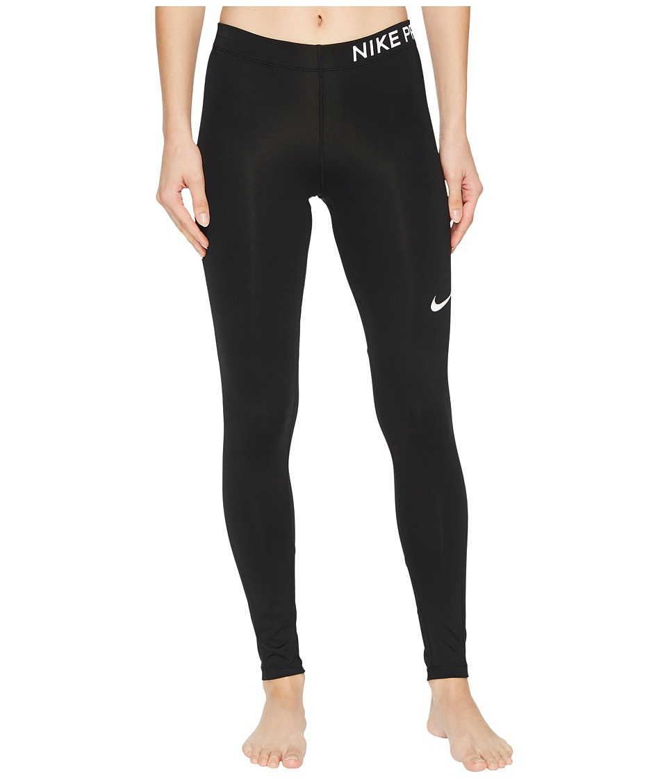 Nike Pro Training Tight (Black/White) Women