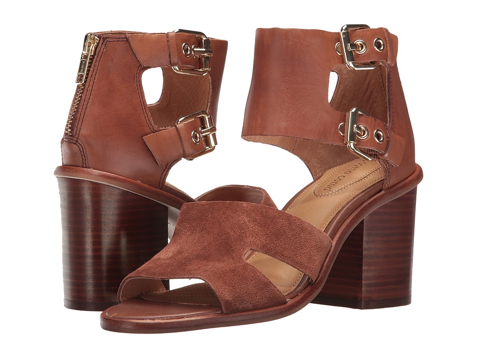 Corso Como September (Cognac Burnish Calf/Cognac Split Suede) Women