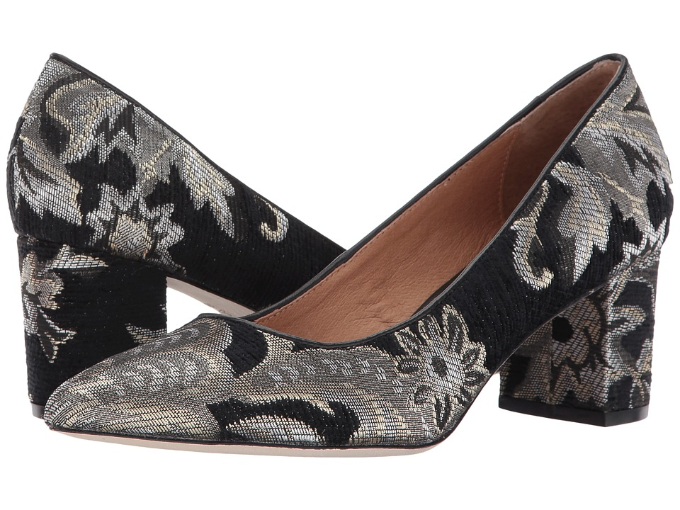 Corso Como Regina (Black Metallic Brocade) Women