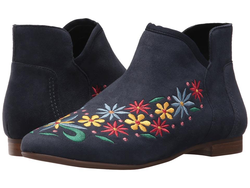 60s Shoes, Boots | 70s Shoes, Platforms, Boots Bernardo - Francine Navy Womens Zip Boots $240.00 AT vintagedancer.com