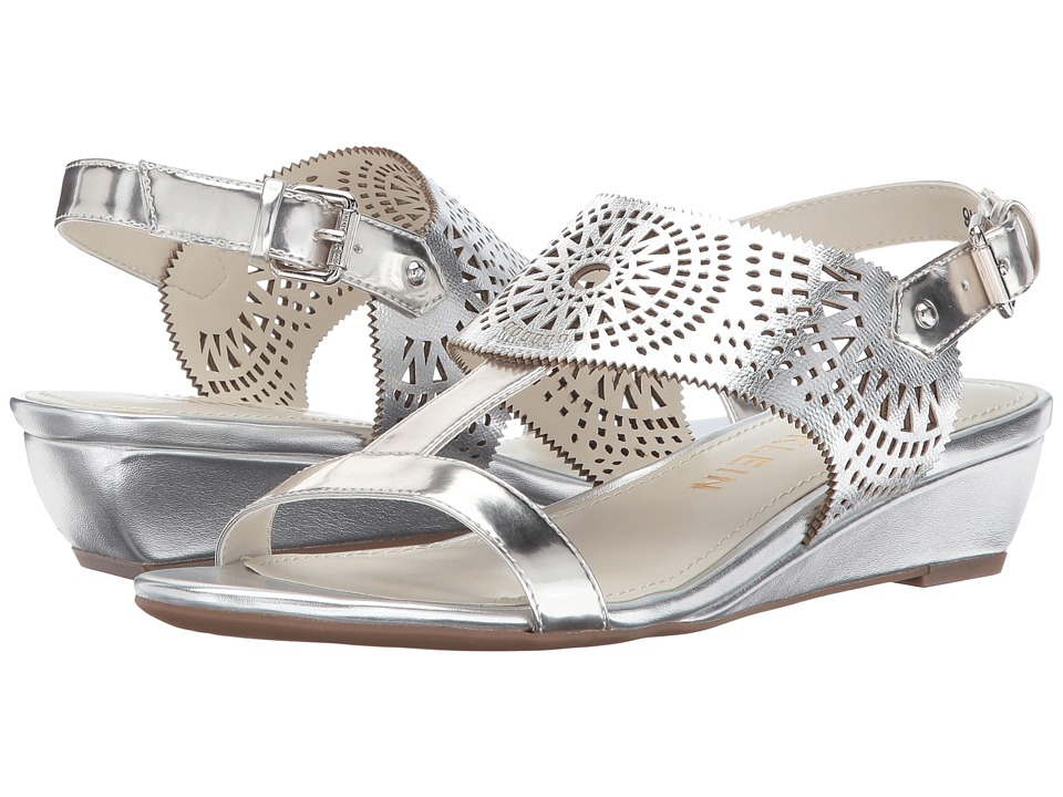 Anne Klein - Maddie (Silver Synthetic) Womens Shoes