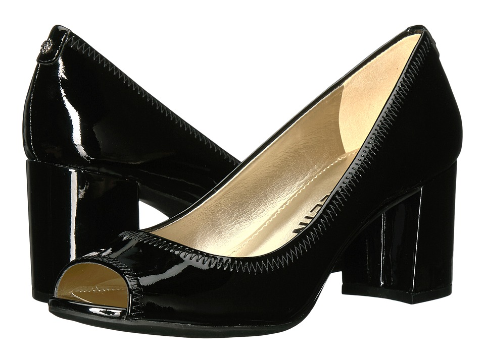 Anne Klein Meredith (Black Patent) Women's Shoes