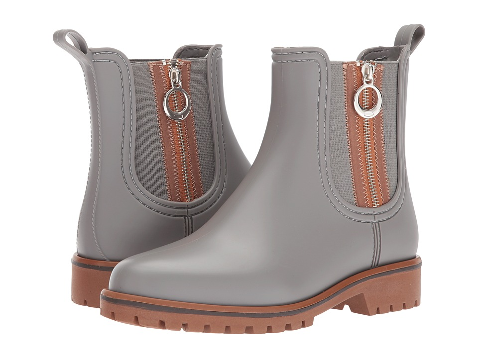 Bernardo Zip Rain (Grey) Women