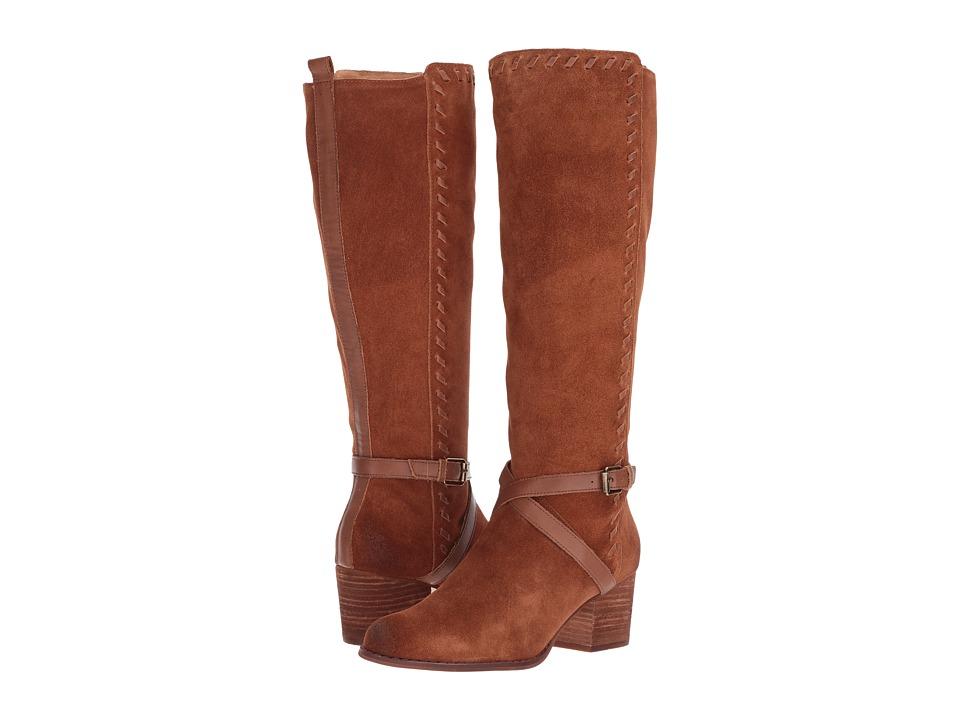 Corso Como Hoffman (Cognac Split Suede/Cognac Burnish Leather) Women
