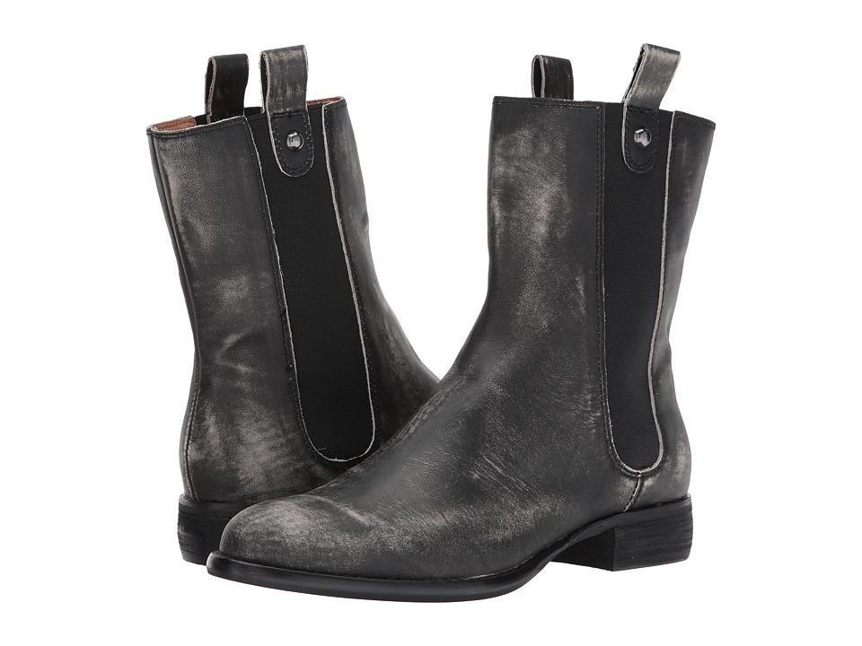 Corso Como Armando (Black Worn Leather) Women