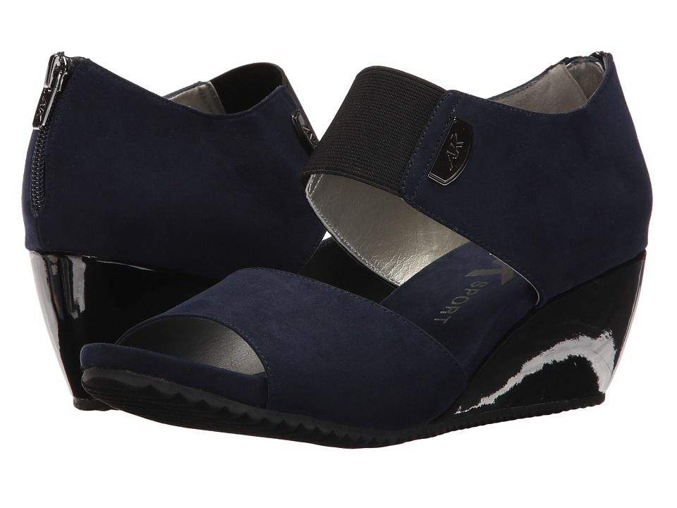 Anne Klein - Carisma (Navy Fabric) Womens Shoes
