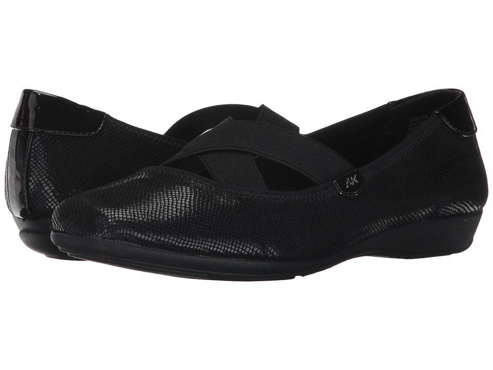 Anne Klein - Ulisa (Black Multi Fabric) Womens Shoes