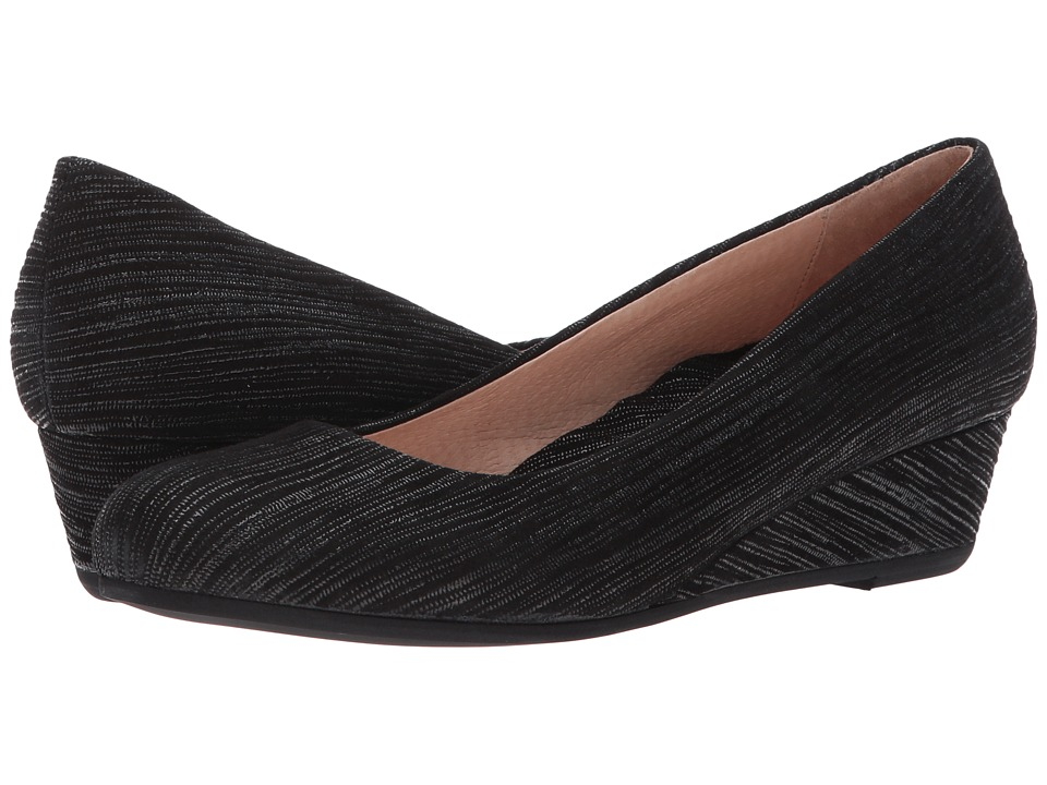 French Sole Gumdrop (Black Pinstripe Print) Women